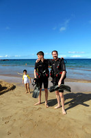 2-Jan-17 Wailea Point Scuba Tour David and Daniel Schifrin (Blaze)
