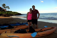 8-Oct-16 Kayak Eco-Snorkel Angelo and Bethany Poulos (Blaze)